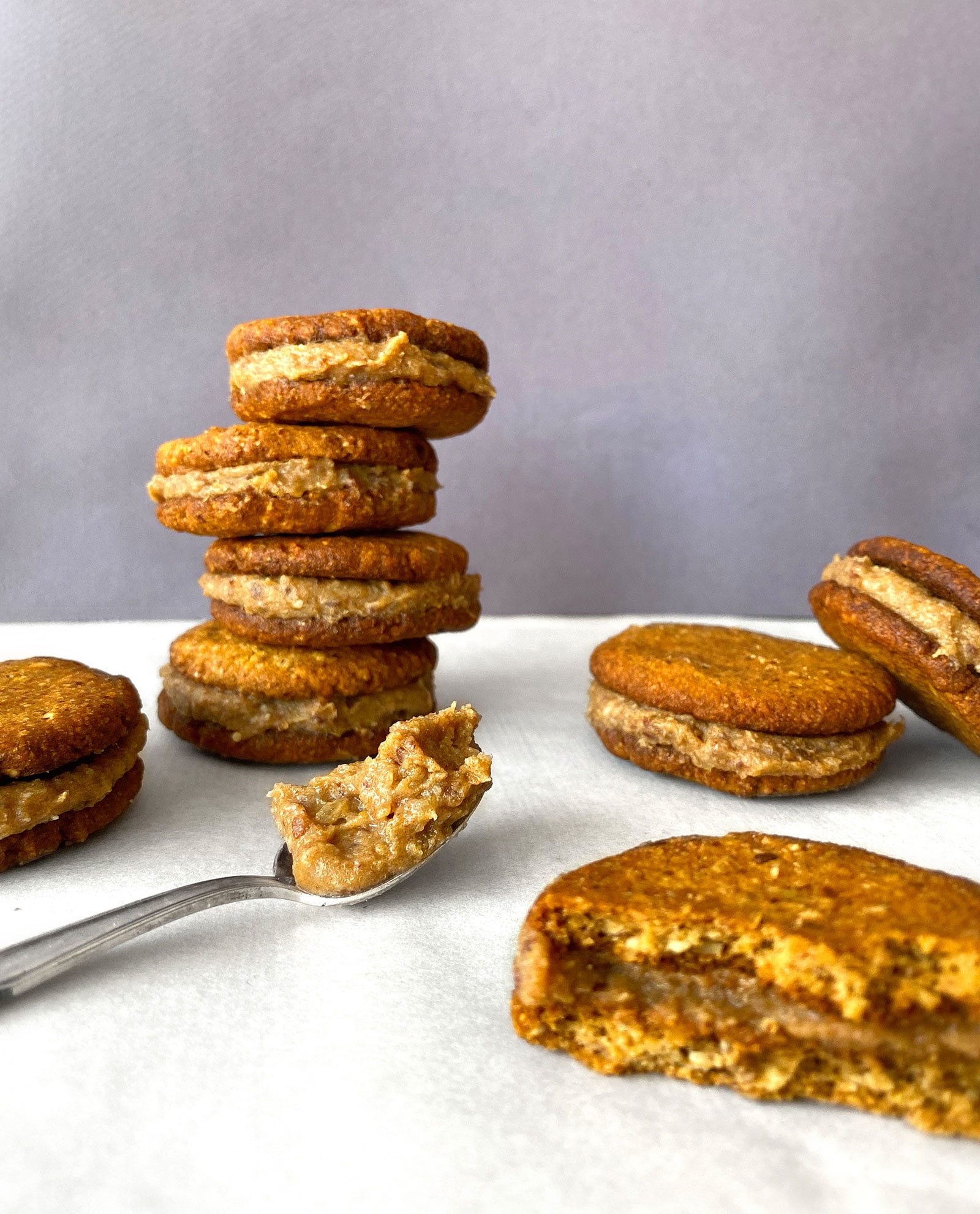oat-almont-and-caramel-cookie-sandwiches